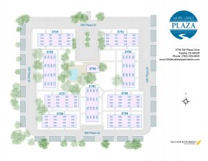 White Lake Apartments Site Map